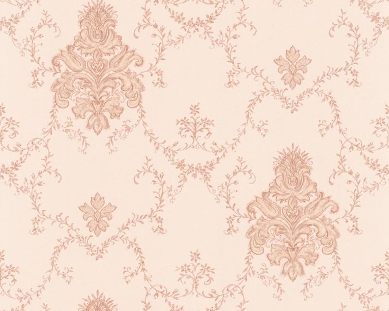 Tapete hermitage vii altrosa hermitage vii retro for Tapeten rosa
