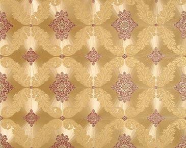 tapete hermitage gold rot hermitage retro tapeten pr sentiert von klang und kleid. Black Bedroom Furniture Sets. Home Design Ideas