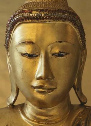 Tapete Fototapete - Golden Buddha