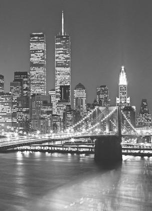 fototapete new york brooklyn bridge 183 x 254cm fototapeten pr sentiert von klang und kleid. Black Bedroom Furniture Sets. Home Design Ideas