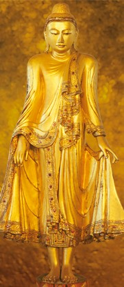 Tapete Fototapete - Standing Buddha