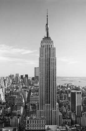 Tapete Fototapete - Riesenposter -  New York - Empire State Building