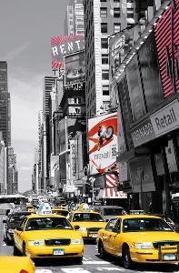 Tapete Fototapete - Riesenposter - New York  - Times Square Ii