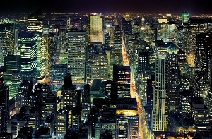Tapete Fototapete - Riesenposter - From The Empire State Building, New York City