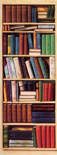 Fototapete Bücherregal filmplakate com shopping tapeten fototapete bücherregal