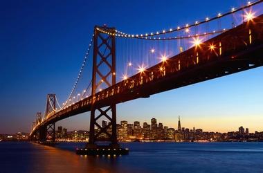 Fototapete San Francisco Skyline - Klicken für grössere Ansicht