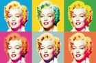RIESENPOSTER - VISIONS OF MARILYN