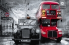 FOTOTAPETE - RIESENPOSTER - LONDON - TAXI & BUS
