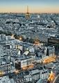 FOTOTAPETE PARIS VON OBEN EIFFELTURM