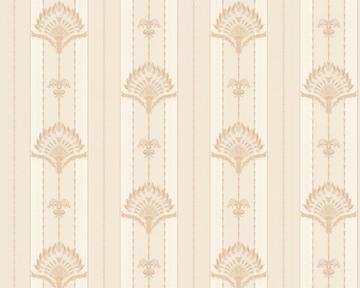 tapete hermitage 8 beige hermitage viii retro tapeten pr sentiert von klang und kleid. Black Bedroom Furniture Sets. Home Design Ideas