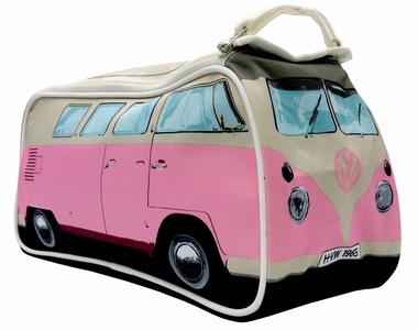 VW Bus T1 Kulturbeutel Bulli - Rosa - Volkswagen