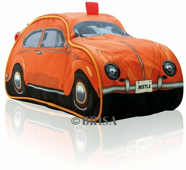 vw k fer kulturbeutel orange volkswagen beetle. Black Bedroom Furniture Sets. Home Design Ideas