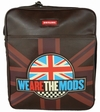 SKYLINE TASCHE WE ARE THE MODS - BRAUN