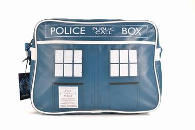 Doctor Who - Retro Schultertasche Tardis
