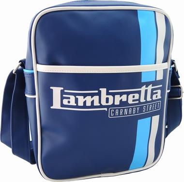 Lambretta Tasche - Streifen blau klein