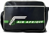 LOGOSHIRT - AIR AFRIQUE TASCHE - SCHWARZ - FAKE LEATHER