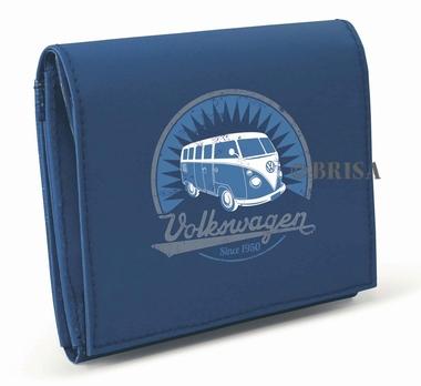 VW Bulli Geldbörse - blau