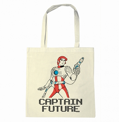 Jutetasche - Captain Future