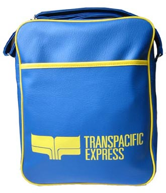 Skyline Tasche - Transpacific Express - Blau