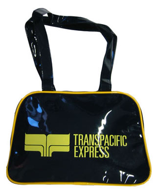 Skyline Tasche - Transpacific Express - small, dunkelblau