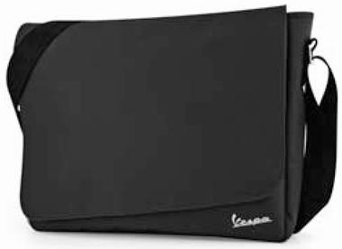 Vespa Tasche Messenger Bag - schwarz
