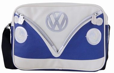 VW Bus Tasche Bulli - Blau - Querformat - Volkswagen