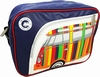 VW BUS TASCHE BULLI STRIPES - QUERFORMAT - VOLKSWAGEN
