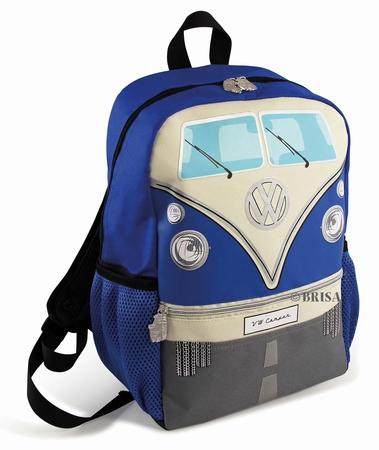 VW Bulli Rucksack klein - blau