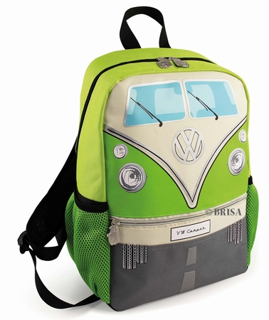 VW Bulli Rucksack klein - grün