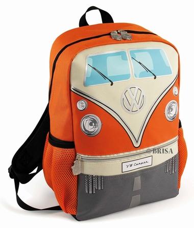 VW Bulli Rucksack klein - orange