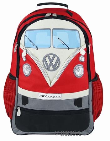 VW Bulli Rucksack - rot