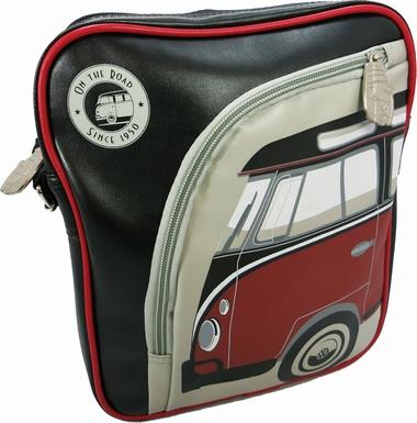 VW Bus Ipad Tasche Bulli Rot/schwarz - Volkswagen