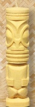 Tiki Kerze Tiki Marquesan - Bambus