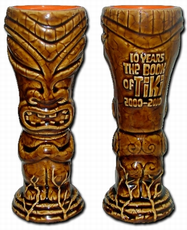 10 YEARS THE BOOK OF TIKI  - TIKI MUG