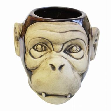Tiki Mug Monkey glänzend