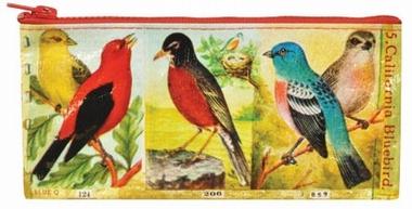 Federmäppchen Birds