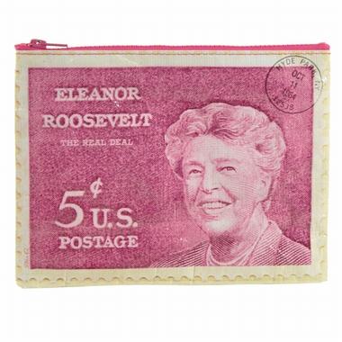 Eleanor Roosevelt Zipper Tasche