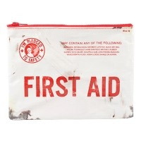 First Aid Zipper Tasche