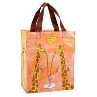 Giraffes Are Good People Shopper klein - Tragetasche