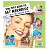 Why Get Married Magnet Set