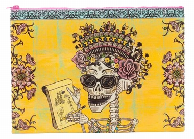 Jumbo Zipper Tasche - Day Of The Dead
