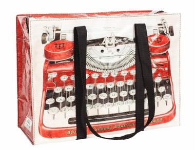 Schultertasche - Typewriter