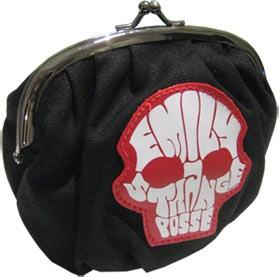 Emily The Strange -ESP Skull Make-Up Bag