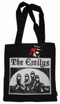 EMILY THE STRANGE - THE EMILYS ZIP TOTE BAG