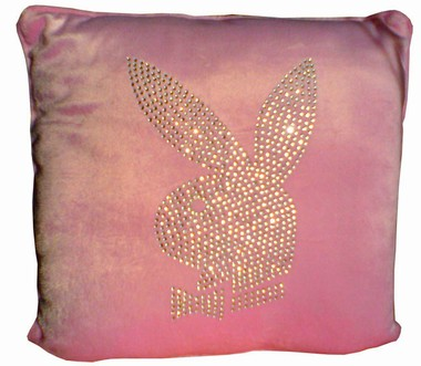 Playboy Kissen Voll-Strass
