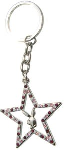 Playboy Key Ring Deluxe - Star