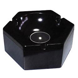 Hub Aschenbecher - schwarz