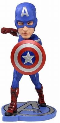 Captain America Avengers Wackelkopf-Figur Headknocker