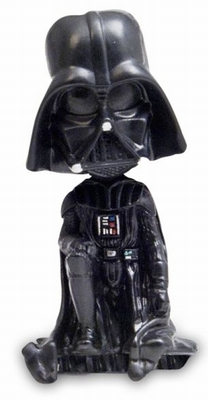 klang und kleid m bel star wars darth vader wackelfigur kantenhocker. Black Bedroom Furniture Sets. Home Design Ideas