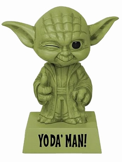 Star Wars Wackelkopf-Figur Yoda - Yoda' Man!